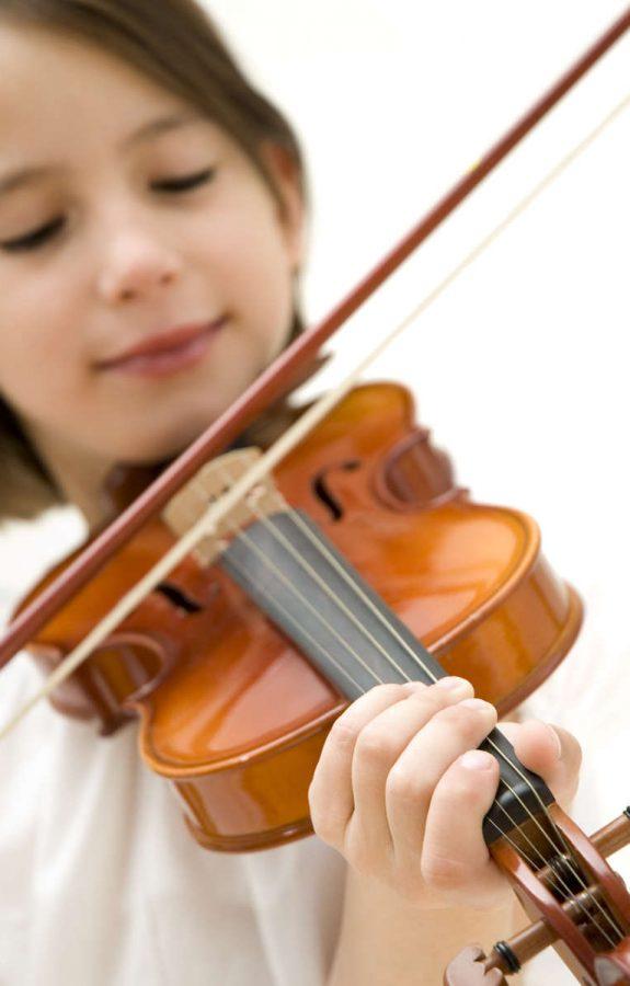 clases de violín para niños en Valencia - niña