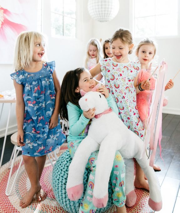 escuela infantil en Valencia - fiesta de pijamas