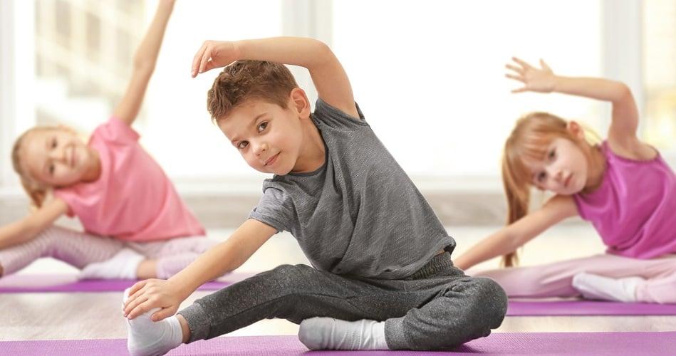 yoga para niños en Valencia - clase infantil