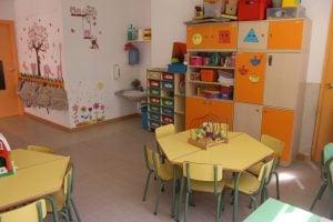 escuela infantil bilingüe en Valencia - clase colorida