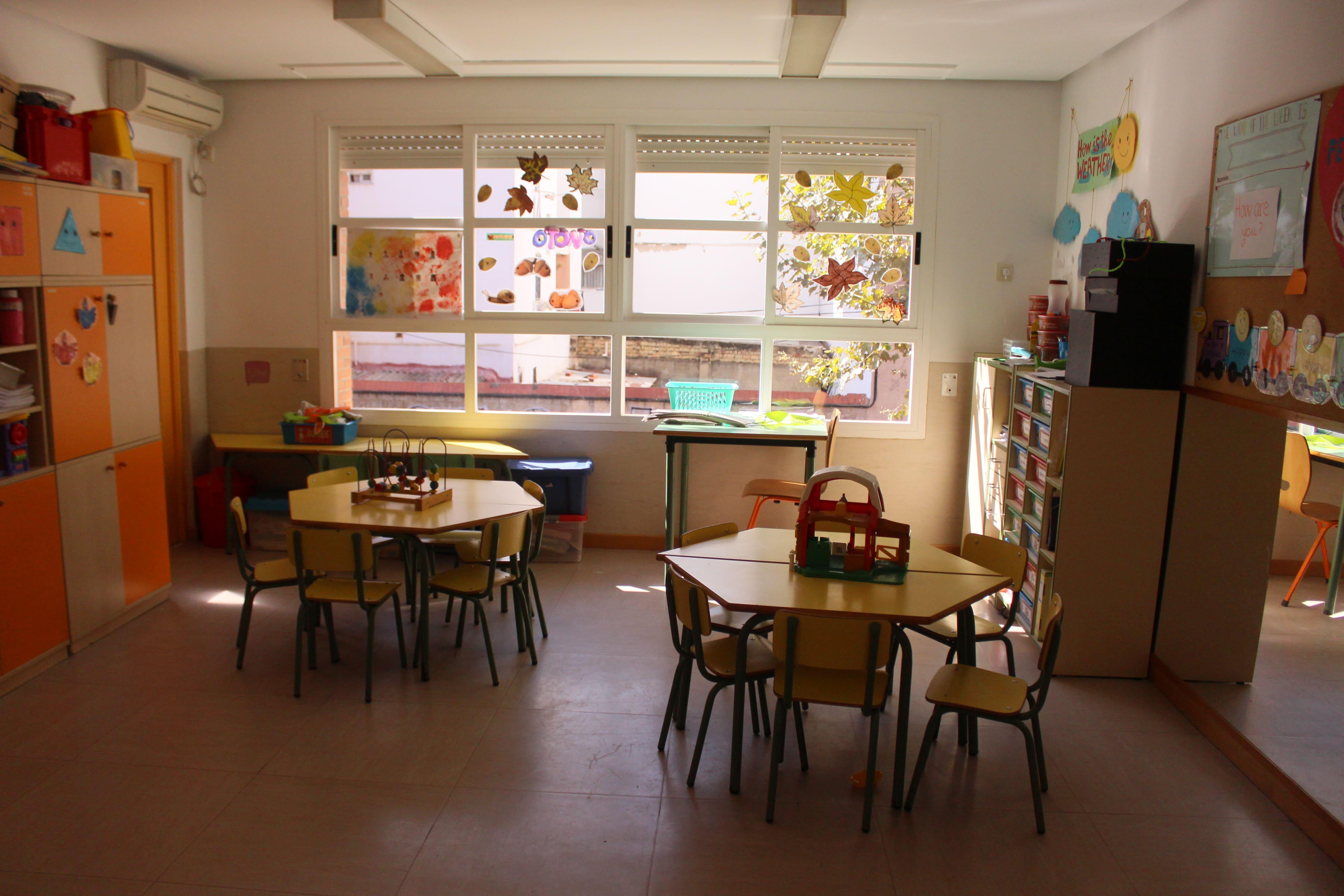 escuela infantil bilingüe en Valencia - clase infantil