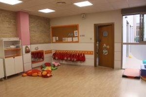 escuela infantil bilingüe en Valencia - clase naranja