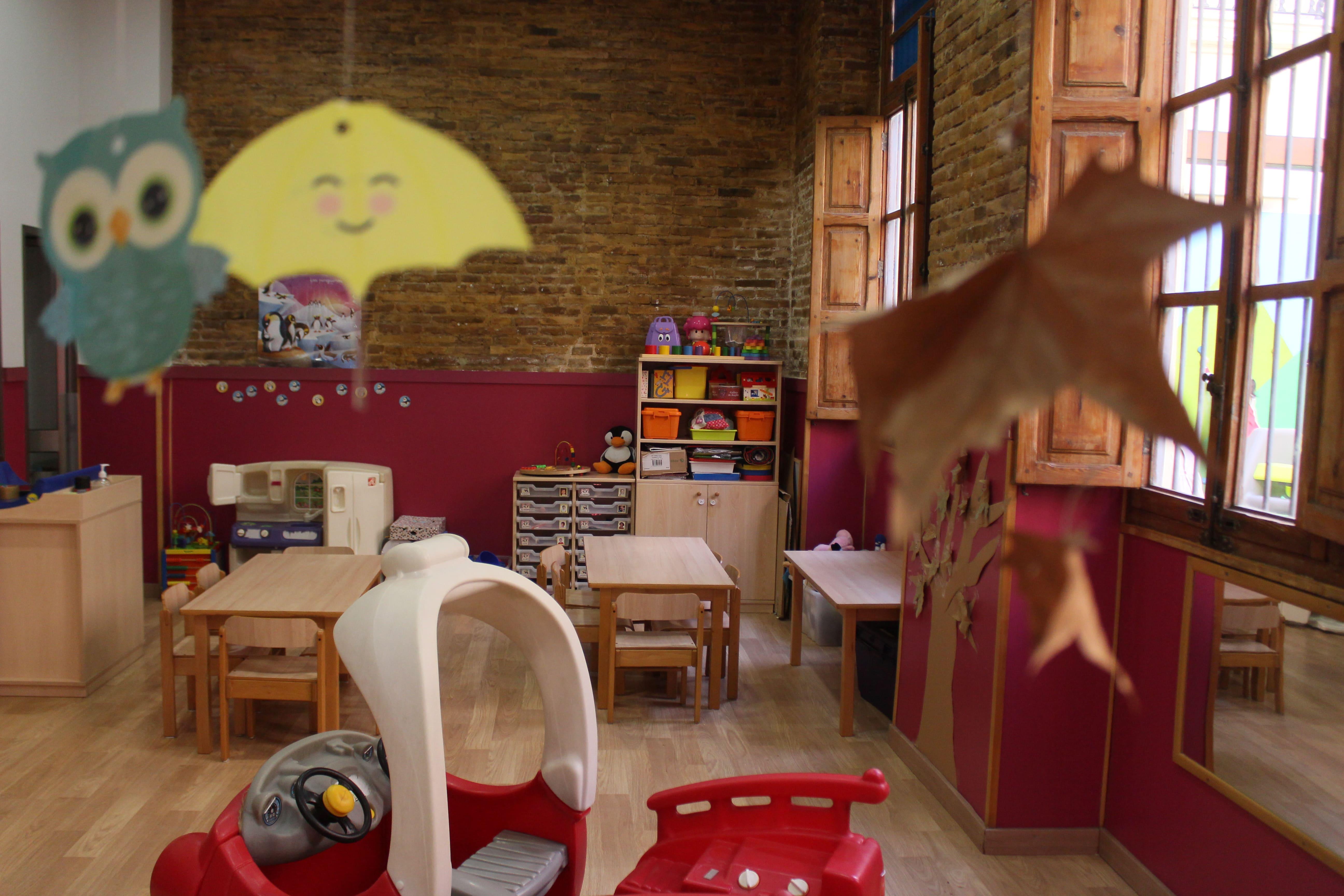 escuela infantil bilingüe en Valencia - clase por dentro