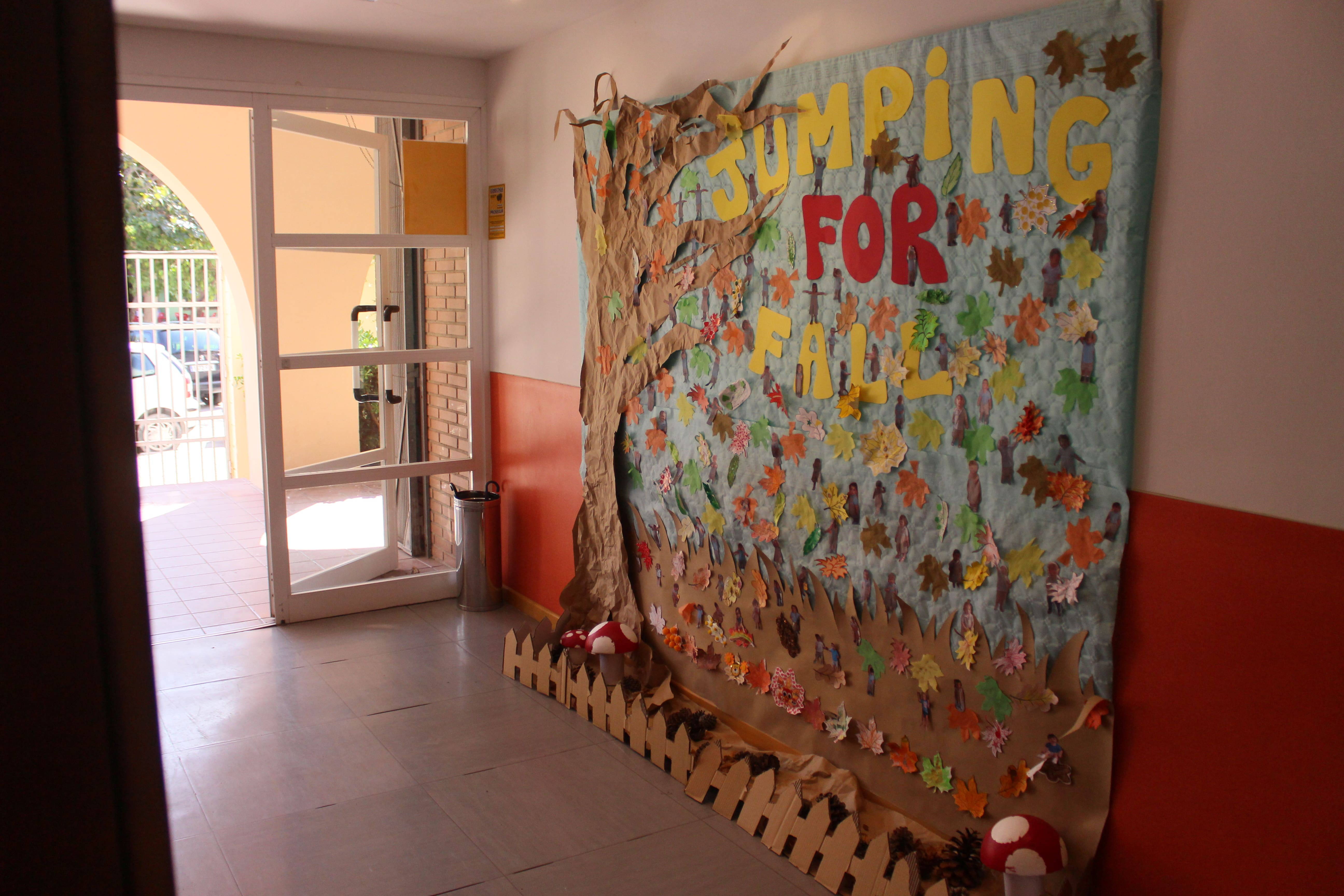 escuela infantil bilingüe en Valencia - mural