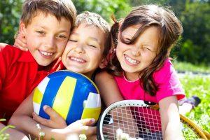 campus de verano para niños en Valencia - niños jugando