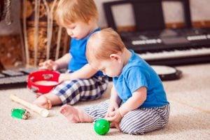 iniciación musical para bebés en Valencia - pandereta
