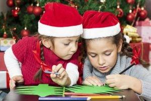escuela de navidad en Valencia - tarjetas