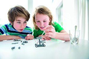 robotica para niños en Valencia - hermanos