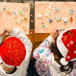 escuela infantil en Valencia - actividades navideñas