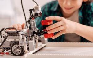 robotica educativa en Valencia - tractor