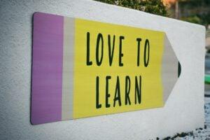 educacion infantil en ingles en Valencia - cartel