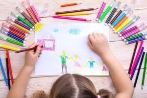 Escuela infantil en Valencia - Dibujo