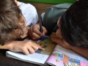escuela infantil en inglés en Valencia - libro