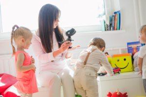 educación infantil concertada en Valencia - profesora