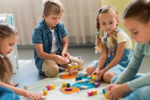 escuela infantil con inglés en Valencia - niños