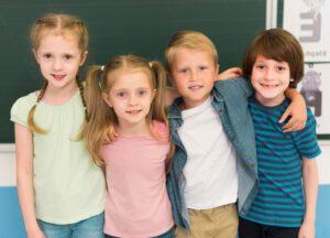 gabinete psicopedagógico - grupo de niños