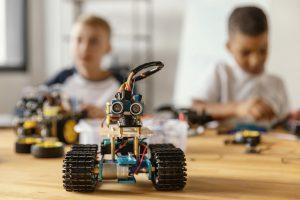 escuelas de verano en valencia - robot